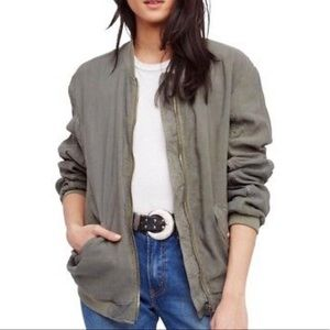Free people olive green jacket